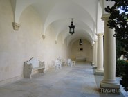 Итальянский дворик в Ливадийском дворце