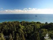 Вид на побережье с Ай-Петри