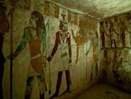 Фрески на стенах гробницы Zed-Amun-ef-ankh