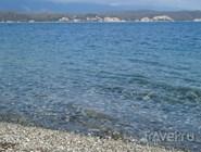 Прозрачное море в Пицунде