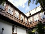Традиционный балкон в Ла-Лагуна