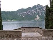 Вид на озеро Лугано