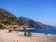 Пляж в бухте Олюдениз