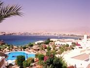 Вид из отеля Sofitel на район Наама-Бэй, Шарм-эль-Шейх