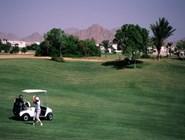 Поле для гольфа в отеле Jolie Ville Moevenpick Golf & Resort 5*, Шарм-эль-Шейх