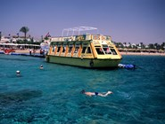 Лодка с прозрачным дном для морских экскурсий, Шарм-эль-Шейх