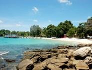 Пристань на острове Самет