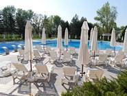 Открытый бассейн в Spa Hotel Hissar