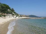 Пляж на полуострове Афон