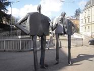 Оригинальные скульптуры в Цюрихе