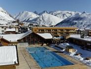 Открытый бассейн в Альп-д'Юэзе