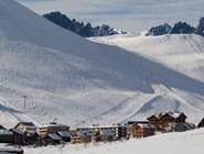 Обработанные склоны Альп-д'Юэз
