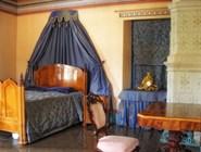Интерьеры дома выдержаны в старинном стиле