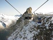 Подъемники на вершину ледника Хинтертукс
