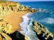 Дикий пляж в Андалусии