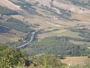 Холмистый ландшафт Апулии