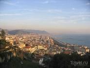 Панорама города Салерно