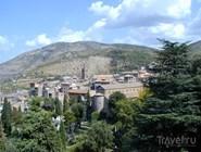 Вид на историческую часть Тиволи