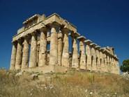 Разрушенный храм в Селинунте, Сицилия