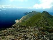 Вид на остров Мареттимо с горы Фальконе