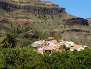 Живописный городок на Гран-Канарии