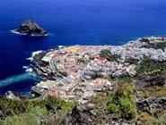 Панорама городка Гарачико на Тенерифе