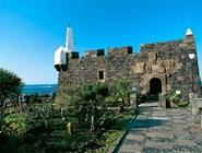 Средневековый замок в Гарачико