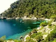 Скалистые острова вокруг Ибицы