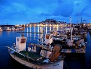 Вид на Сьютат-д'Ивиса - столицу острова