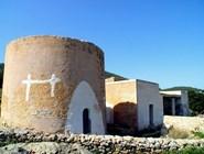 Традиционные дома на острове Ибица