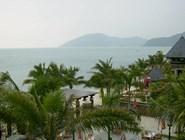 Пляж отеля Mandarin Oriental Sanya
