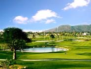 Обширная зона для гольфа