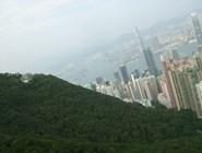Иллюстрация того, какой Гонконг ещё и зелёный город
