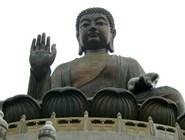 Бронзовый Будда на острове Ланьтау