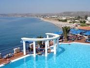 Вид на курорт Кардамена