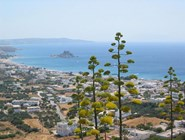 Вид на курорт Кефалос