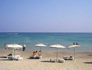 Пляж на курорте Кефалос
