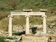 Место священного огня в Эфесе