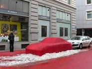 Инсталляция на улице, Санкт-Галлен