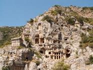 Ликийские гробницы. Древний город Мира