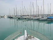 Яхты в гавани Финике