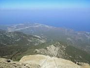 Побережье с вершины горы Тахталы
