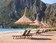 Пляж возле Олимпоса