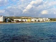 Город Кызкалеси с моря