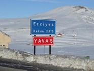 На подъезде к горнолыжному курорту