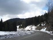 Дорога к лыжному комплексу