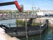 Шлюз на канале в Ля-Рошели
