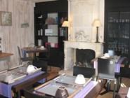 Столовая отеля Les Bois Flottais
