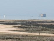 Вид на форт Байяр с острова Мадам