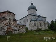 Бывший монастырь на Кий-острове